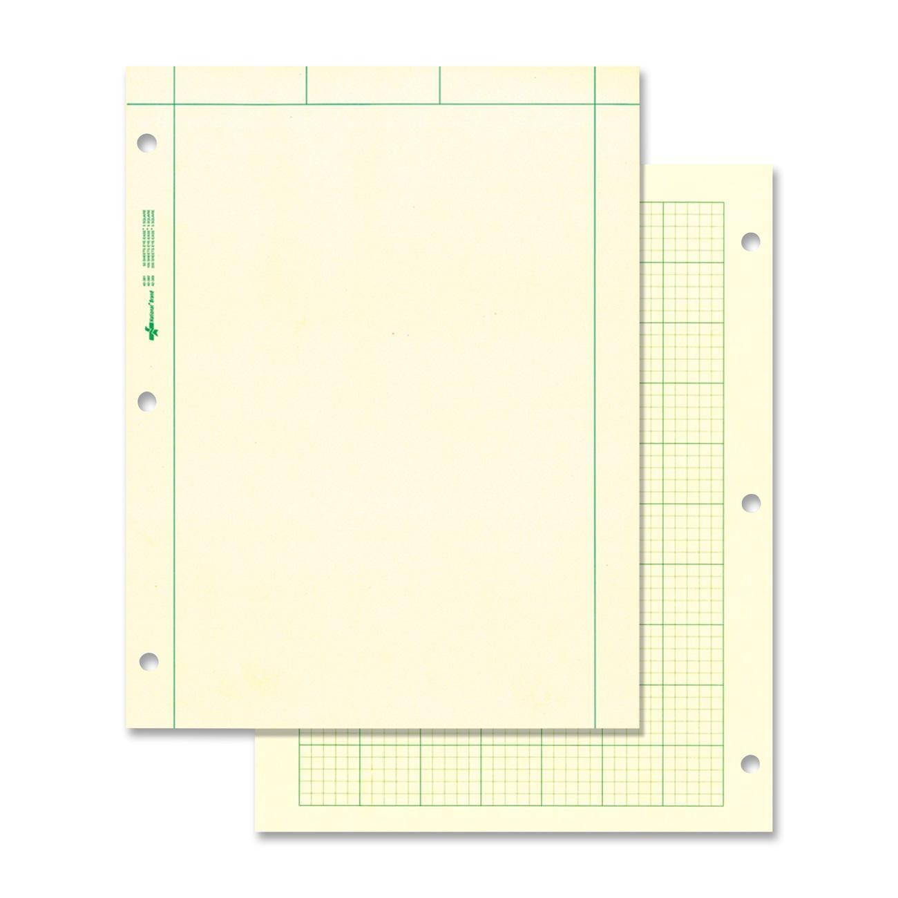Rediform National Computation Pad - 100 Sheet - Quad Ruled ...