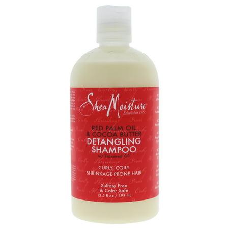 Shea Moisture Red Palm Oil and Cocoa Butter Detangling Shampoo - 13.5 oz Shampoo