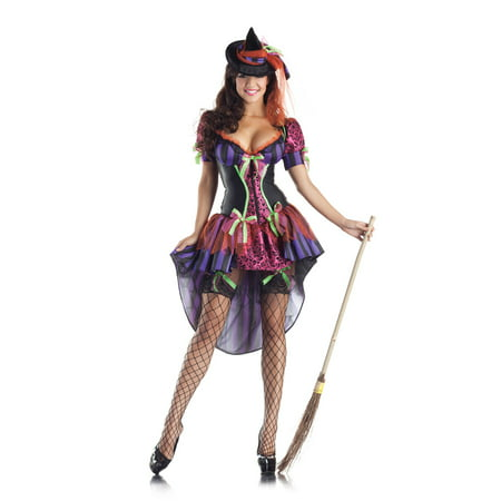 4t Witch Costume (Adult Witch Body Shaper Costume by Party King)