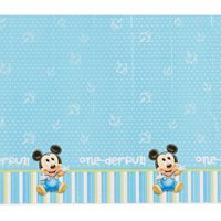 """Mickey Mouse Plastic Table Cover 54"""" x 96"""""""