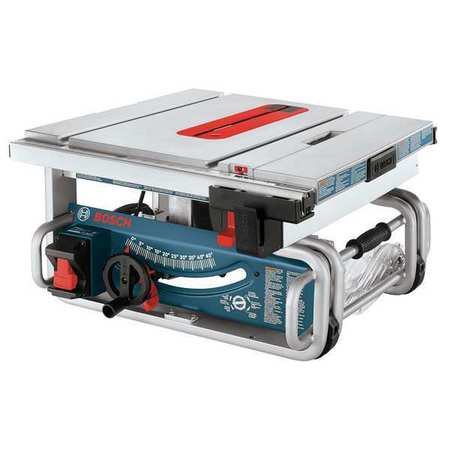 Bosch GTS1031 10 In Portable Table Saw, 15 A by Bosch
