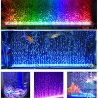 Waterproof Aquarium Colorful 5050 LED Light 24-Button Remote Control Fish Tank Light Bar Underwater Submersible Light Lamp Strip Super-bright Fish Tank Lamps