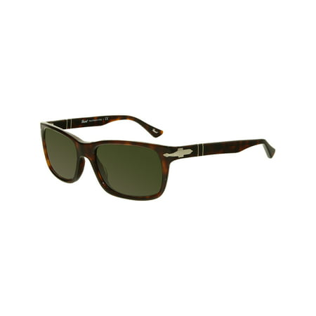 Persol Men's PO3048S-24/31-55 Brown Rectangle Sunglasses ()
