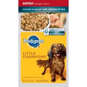 PEDIGREE LITTLE CHAMPIONS Senior Complete With Chicken and Rice Wet Dog Food 5.3 oz.