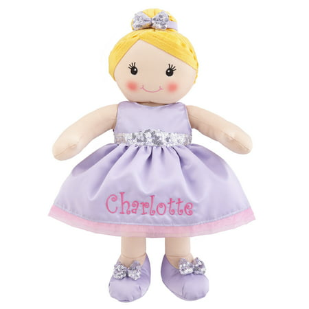 - Personalized All Dressed Up™ Ballerina Rag Doll – Available in 3 Options