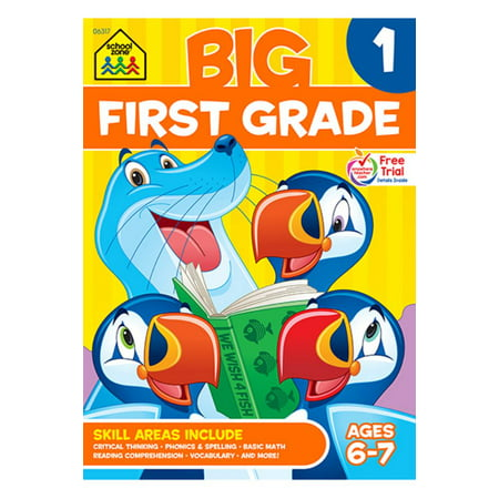 Big First Grade Workbook - Halloween Center Activities First Grade