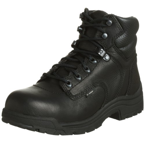 "Timberland PRO Women's 72399 Titan 6"" Safety-Toe Boot,Black,9.5 M by Timberland"