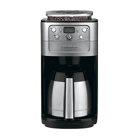 Cuisinart DGB-900BC Burr Grind and Brew Thermal 12-Cup Automatic Coffee Maker (Refurbished) Delay Brew Coffee Maker