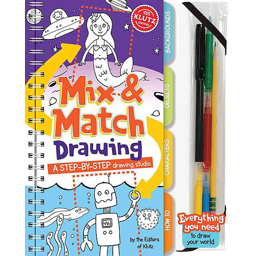 Mix & Match Drawing: A Step-by-step Drawing Studio