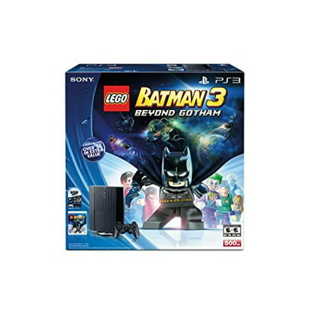 Refurbished Lego Batman 3: Beyond Gotham The Sly Collection PlayStation 3 500GB Bundle