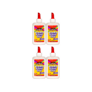 (4 pack) Cra-Z-Art Washable School Glue - 4oz.