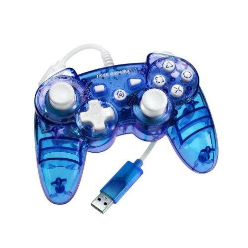 PDP Rock Candy Controller, Blue (PS3)