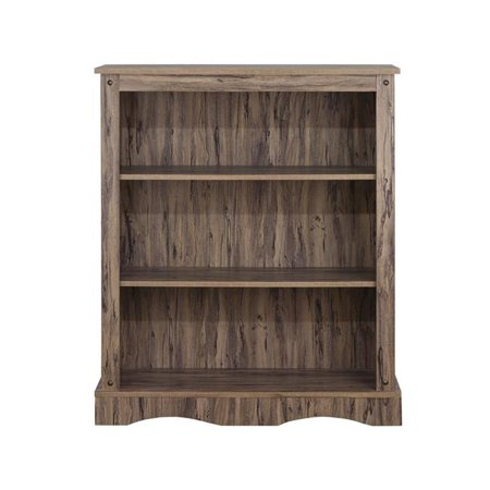 Elegant Home Fashions ELG-642 Simplicity Bookcase with 3 Shelves - image 1 de 1