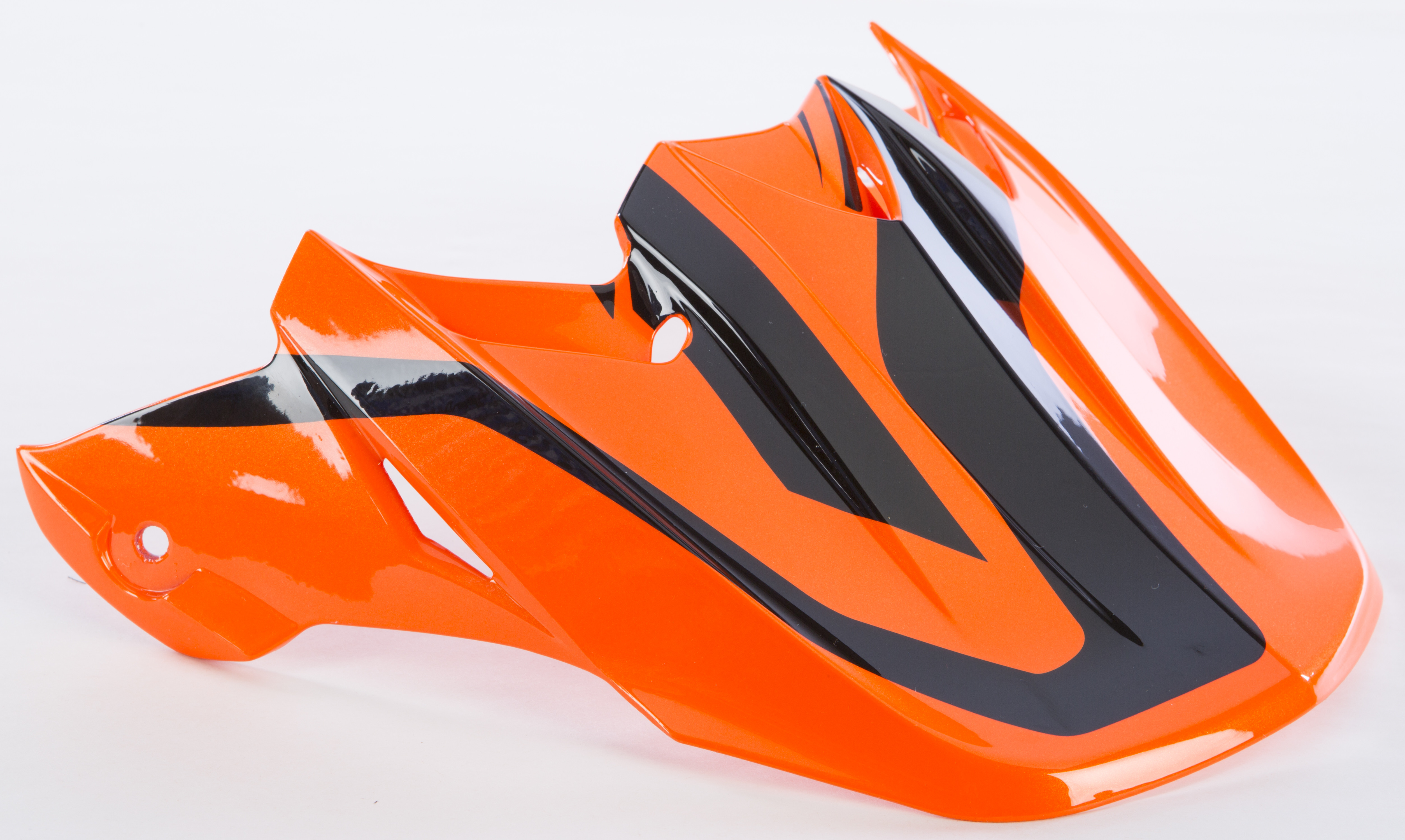 Fly Racing F2 Carbon Pure Replacement Visor Black//Orange//Camo