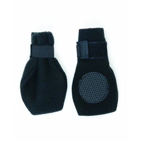 Fashion Pet Lookin Good Arctic Fleece Boots for Dogs, X-Large, Black, The Boot Is Also Great for Indoor Use To Prevent Slipping Or Scratch Marks on.., By Ethical Pet Ethical Pet Fashion