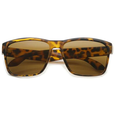 sunglassLA - Action Sport Modern Lifestyle Frame Rectangle Sunglasses - (Casual Lifestyle Collection Sunglasses)