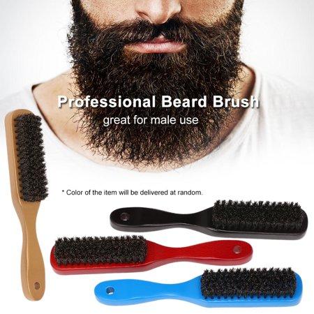 La brosse à barbe Poils naturels fermes La poignée pour cheveux et pinces s'utilise avec tous les baumes et huiles à la barbe - image 5 of 5