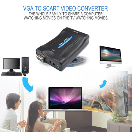 Sensational Vga To Scart Converter Video Converter Portable Video Digital Switch Wiring Cloud Philuggs Outletorg
