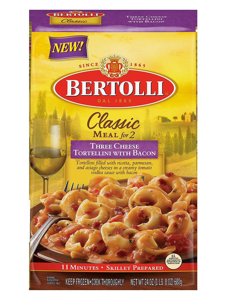 Bertolli Classic Meal for 2 Three Cheese Tortellini with Bacon, 24 oz by ConAgra Foods Inc.