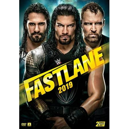 WWE: Fast Lane 2019 (DVD)