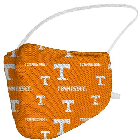 Tennessee Volunteers Fanatics Branded Adult All Over Logo Face Covering Tennessee Volunteers Forest Face