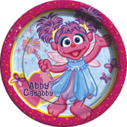 Abby Cadabby Large Paper Plates (8ct)  sc 1 st  Walmart & Abby Cadabby Large Paper Plates (8ct) - Walmart.com