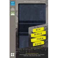 NIV, Bible for Teen Guys, Leathersoft, Blue : Building Faith, Wisdom and Strength