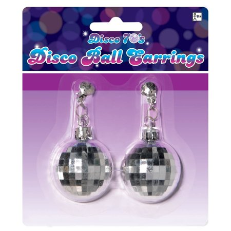 Disco Jewelry Accessories (Disco Ball Earrings Costume)