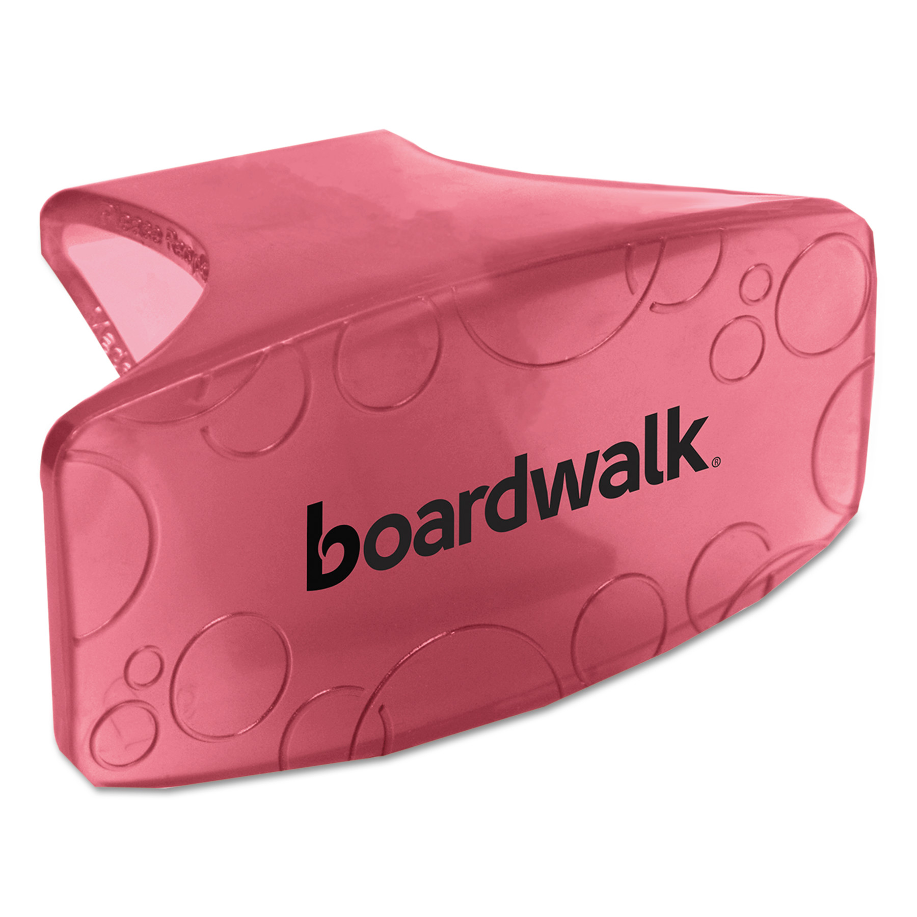Boardwalk Bowl Clip, Spiced Apple Scent, Red, 12/Box -BWKCLIPSAP