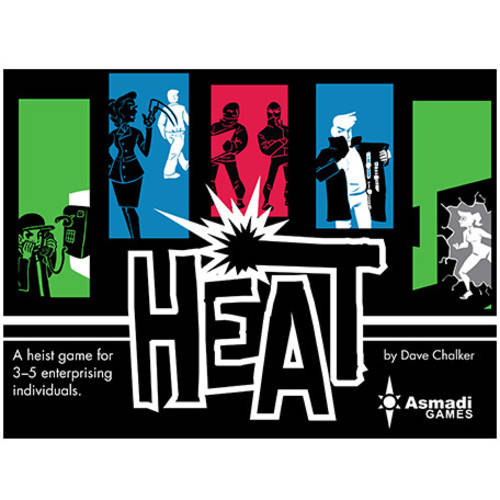 Asmadi Games Heat Card Game