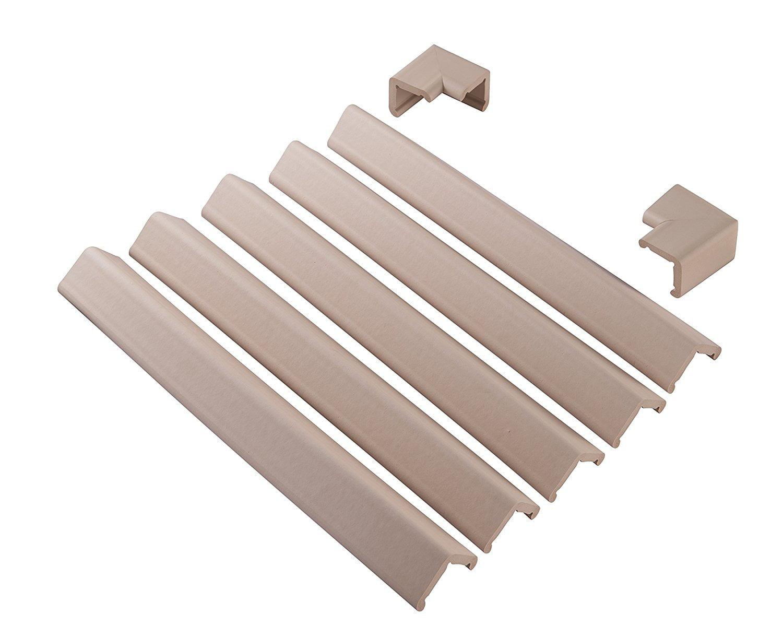 Soft Edge Guard Cushiony Foam Tape Fireplace Table Sharp Edges Baby Home Safety