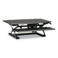 HON Coordinate Portable Desktop Riser, 35.04w x 31.1d x 16.54h, Black -BSXRISERBLK