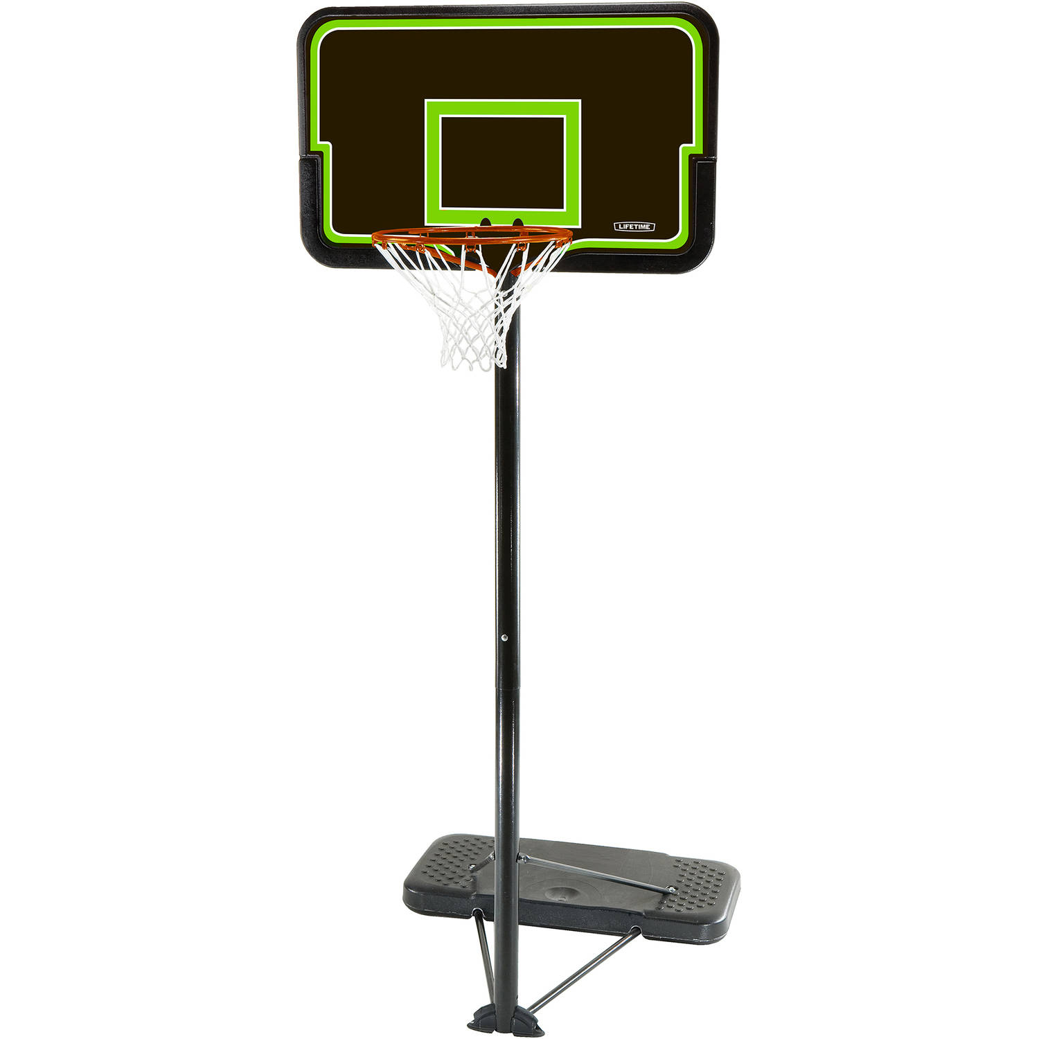 "Lifetime 44"" Impact Portable Adj Height Basketball Hoop, 90670"