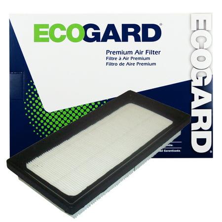 Mitsubishi Green Air Filter (ECOGARD XA10338 Premium Engine Air Filter Fits Mitsubishi Mirage, Mirage)