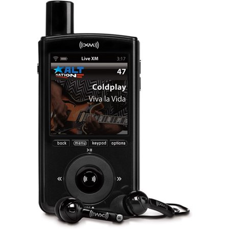 Xm Radio Weather Channel >> Xm Xmp3i Portable Satellite Radio And Mp3 Player With Home Kit