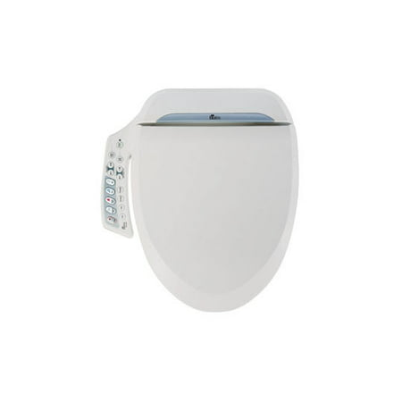 Bio Bidet Ultimate BB-600 Advanced Bidet Toilet Seat, Round - Nature Bio Toilet