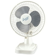 "Comfort Zone CZ6D 6"" Table Fan (White)"