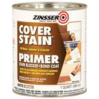 Zinsser Cover Stain Interior & Exterior Stain Blocker Primer, 1 Quart