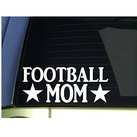 Football Mom sticker *H343* 8.5 inch wide vinyl helmet jersey quarterback](Football Helmet Decorations)