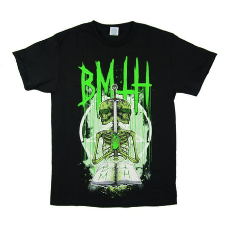 Bring Me the Horizon Double Skeleton Black T Shirt](Bring Me The Horizon Halloween)