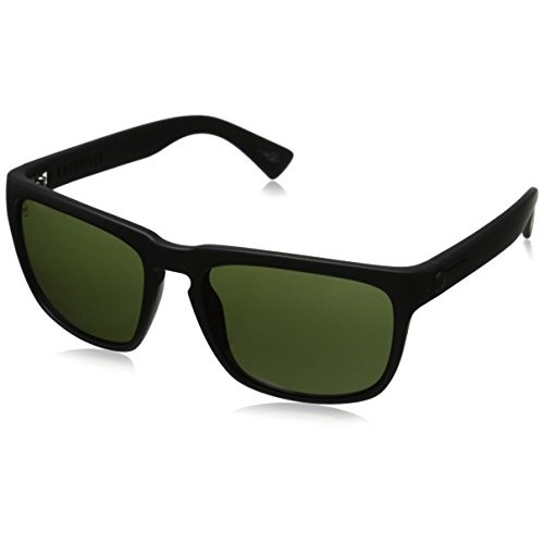 ELECTRIC KNOXVILLE SUNGLASSES Matte Black-Mod Warm Red Silver Chrome EE09050121