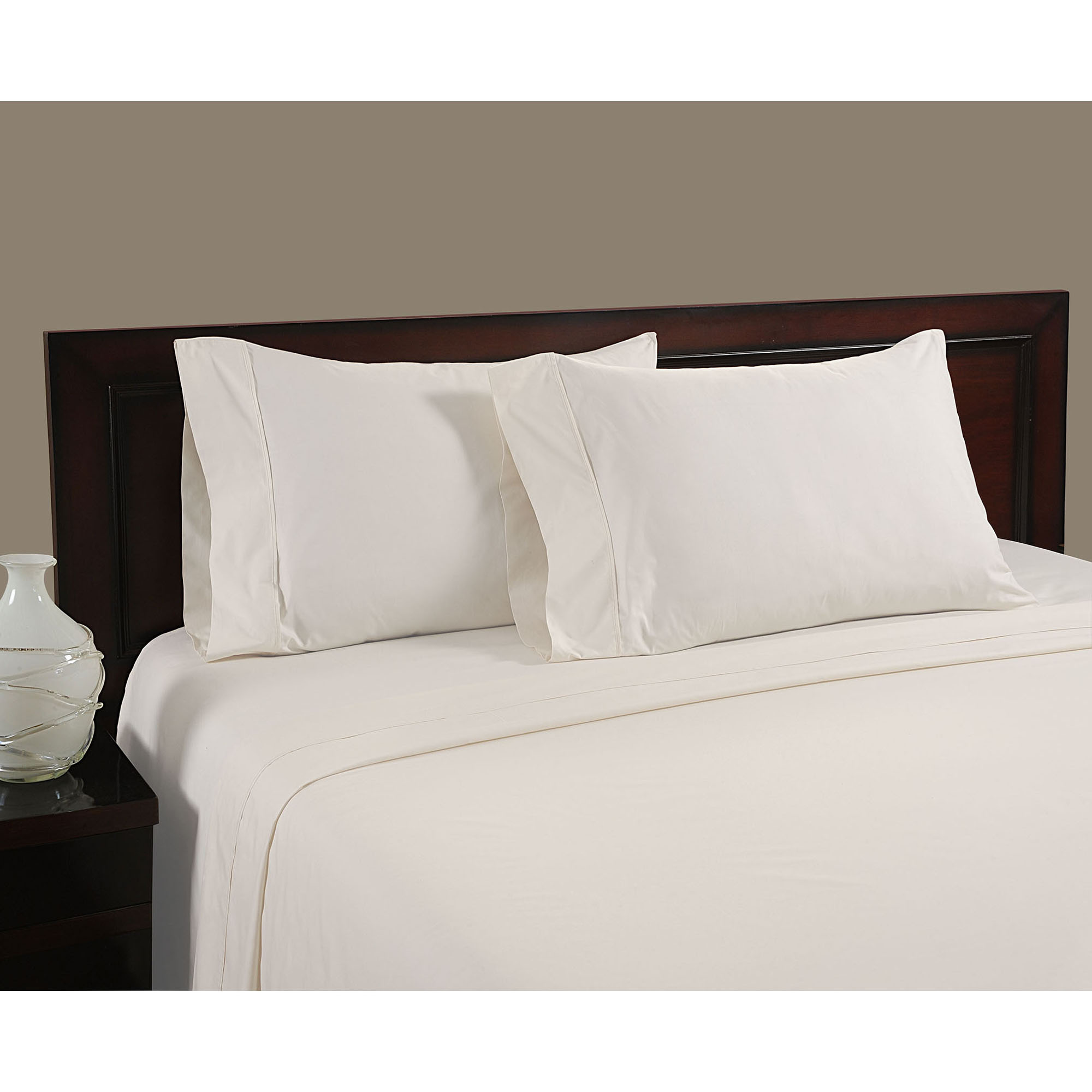 High thread count bed sheets - Color Sense Cool Touch 100 Percent Cotton 400 Thread Count Sheet Set
