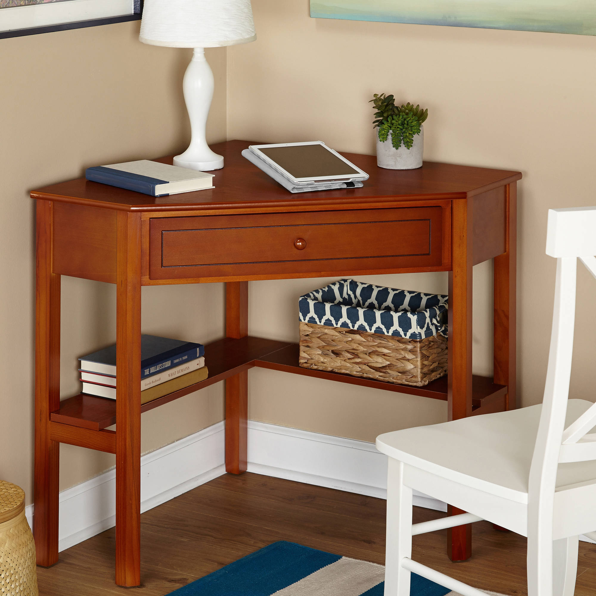 Corner Writing Desk, Multiple Finishes  Walmartm. L Shaped Desk For Small Space. Solid Walnut Dining Table. Antique Secretary Desk With Hutch. Custom Pool Table Felt. Laptop Stands For Desks. Antique Kids Desk. 2 Drawer Filing Cabinet With Lock. College Dorm Desk Hutch