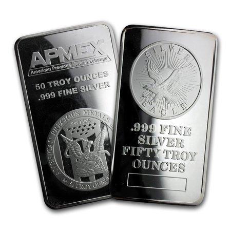 50 Oz Silver Bar Secondary Market