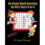 1st Grade Word Search for Kids: 1st Grade Word Search for Kids Aged 4 to 6: A large print children's word search book with word search puzzles for first and second grade children. (Paperback)(Large Pr