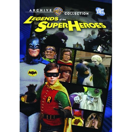 Legends of the Super Heroes (DVD) (All The Superheroes)