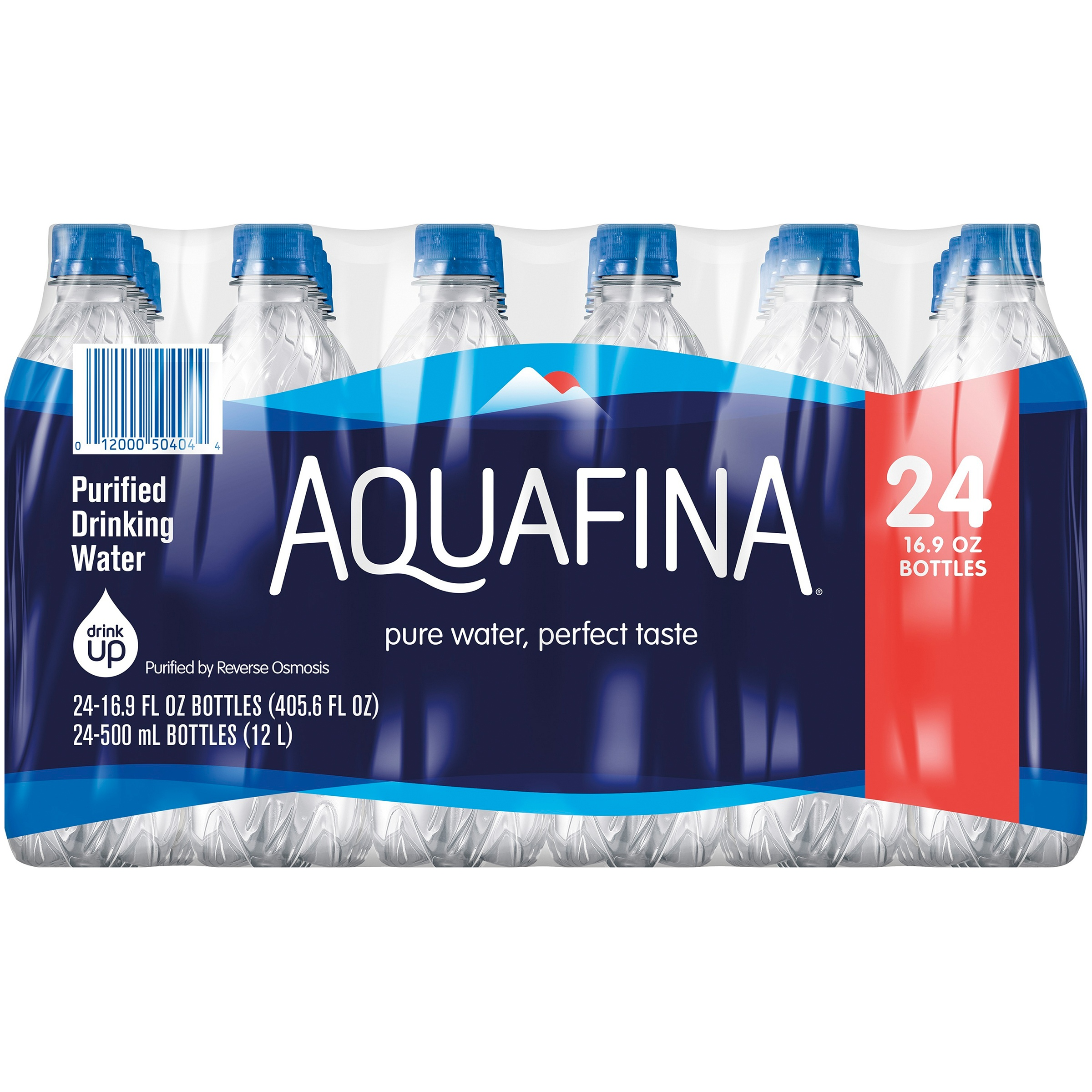 Aquafina Purified Drinking Water 24-16.9 fl. oz. Pack