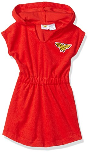 Dreamwave Toddler Girls Wonder Woman Hooded Cover Up
