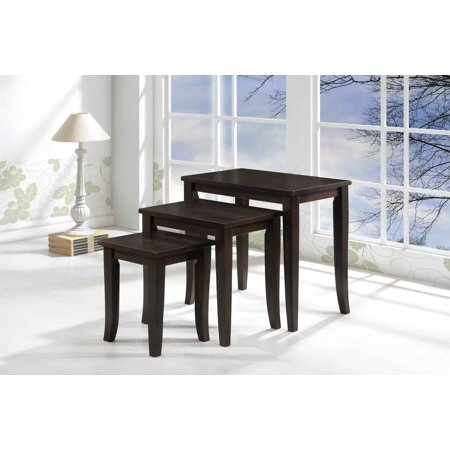 Avon 3-Piece Nesting Tables DTY Indoor Living Furniture Collection - Espresso