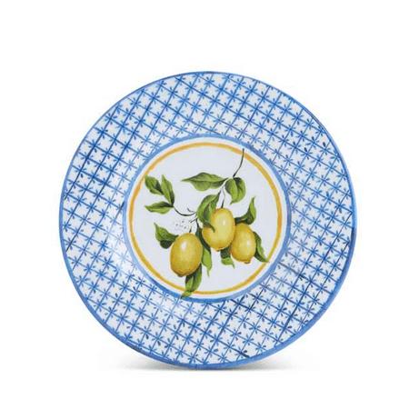 8.5 Inch Lemon Melamine Plate